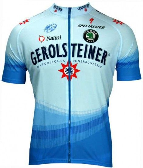 Nalini Gerolsteiner 2006 Professional Cycling Team - Cycling Jersey With Long Zip