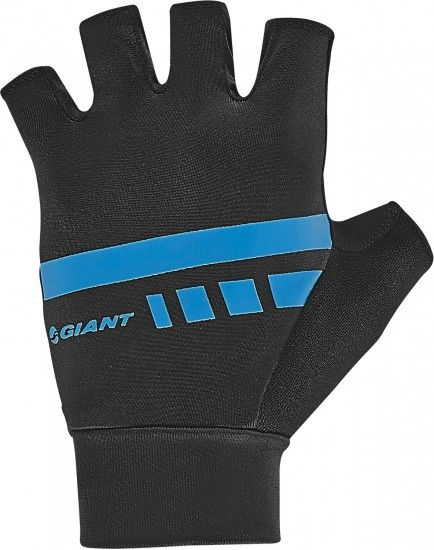 Giant Podium Short Finger Cycling Gloves Black/Blue (E19)