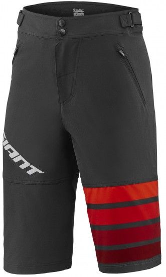 Giant Transfer Bike Shorts Black/Red (E17)