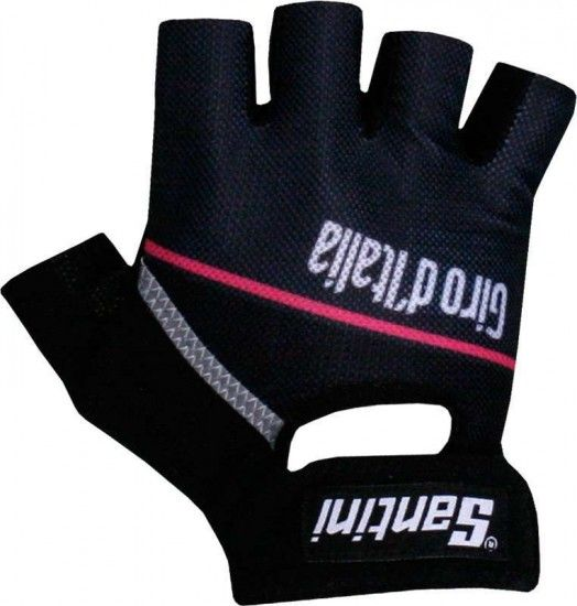 Santini Giro D'Italia 2016-Fashion - Short Finger Gloves By