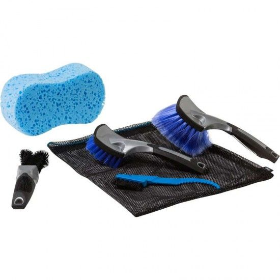 Holmenkol Bicycle Cleaning Set, 5-Parts