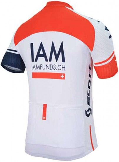 Cuore Iam Cycling 2016 Short Sleeve Jersey (Long Zip) - Professional Cycling Team