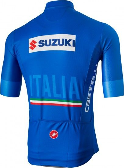 Castelli Italia 2018/19 Cycling Jersey (Long Zip) - National Cycling Team