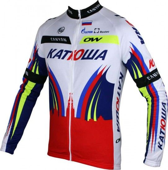 Oneway Katjuscha 2015 Long Sleeve Jersey - Professional Cycling Team
