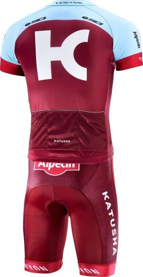 Katusha Alpecin 2018 Cycling Set For Kids (Jersey + Shorts) - Professional Cycling Team