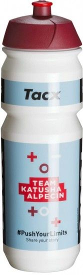 Tacx Katusha Alpecin 2018 Water Bottle 750 Ml - Professional Cycling Team