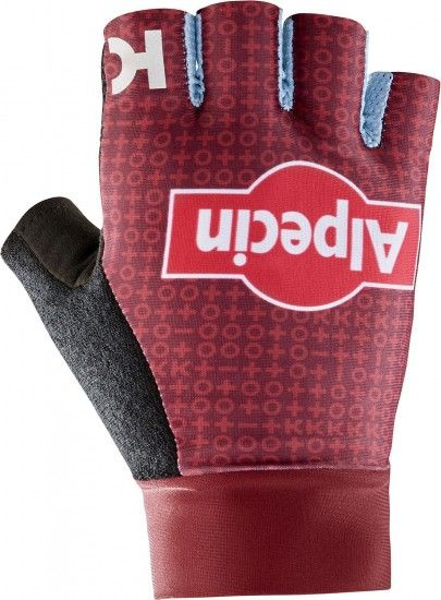 Katusha Alpecin 2019 Short Finger Cycling Gloves - Professional Cycling Team