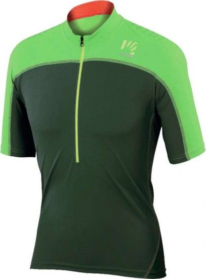 Karpos Rapid Short Sleeve Cycling Jersey Green