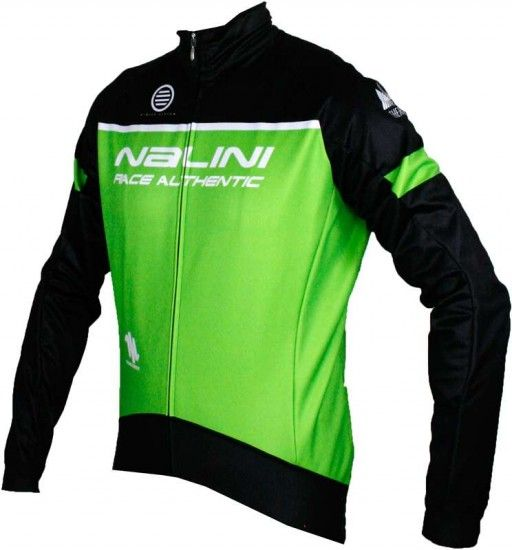 Nalini King Size Pro Canopo B Winter Cycling Jacket Green (I17-4400)