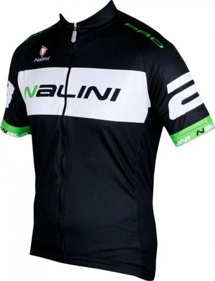 Nalini King Size Pro Special Braga Short Sleeve Cycling Jersey Black/Green