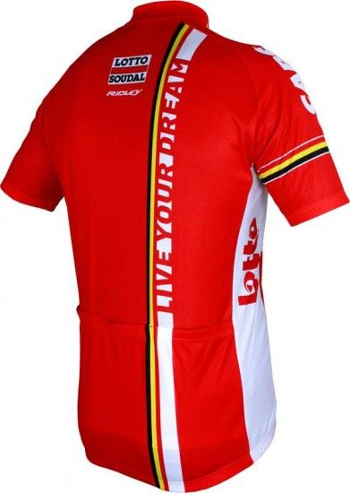 Vermarc Lotto Soudal 2016 Short Sleeve Jersey (Short Zip) - Professional Cycling Team