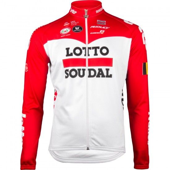 Vermarc Lotto Soudal 2018 Long Sleeve Jersey - Professional Cycling Team