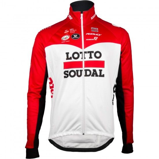 Vermarc Lotto Soudal 2018 Winter Cycling Jacket - Professional Cycling Team