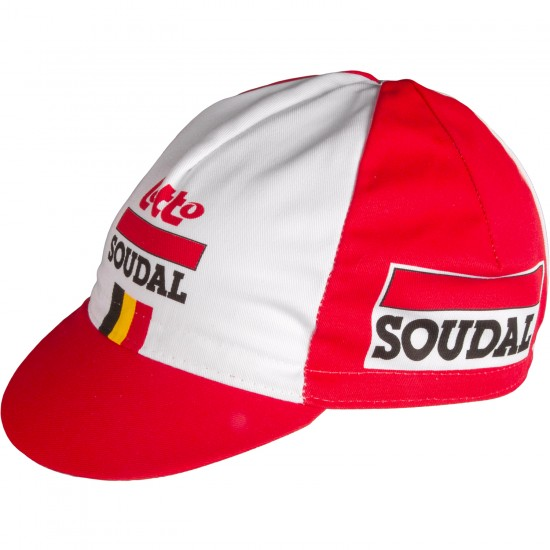 Vermarc Lotto Soudal 2019 Cycling Cap - Professional Cycling Team