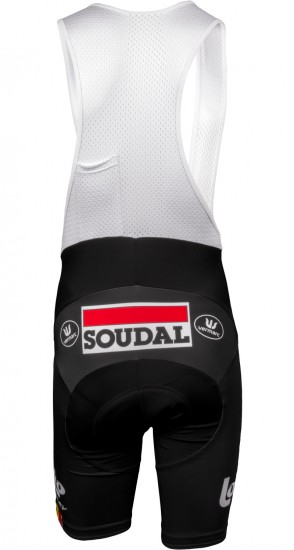 Vermarc Lotto Soudal 2019 Set (Jersey Long Zip + Strap Trousers) - Professional Cycling Team