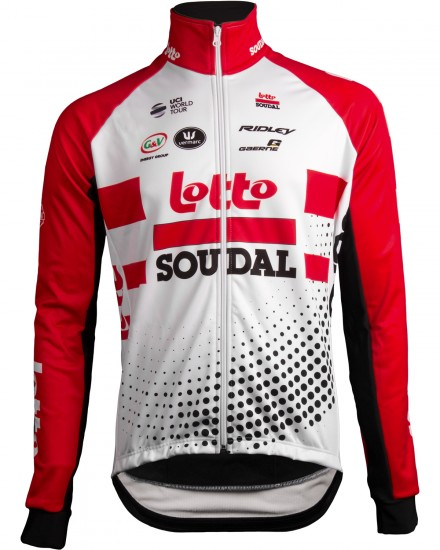 Vermarc Lotto Soudal 2019 Winter Cycling Jacket - Professional Cycling Team