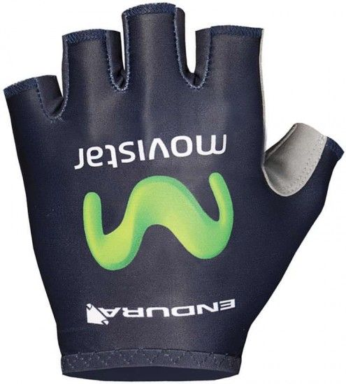 Endura Movistar 2016 Short Finger Gloves Professional Cycling Team
