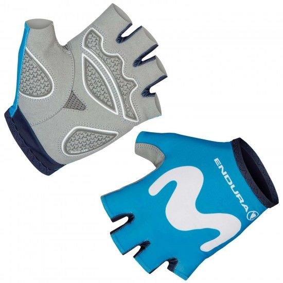 Endura Movistar 2019 Short Finger Cycling Gloves - Professional Cycling Team