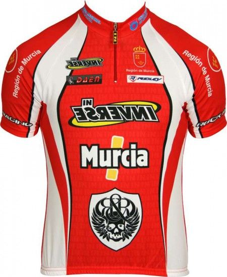 Inverse Murcia Professional Cycling Team - Cycling Jersey With Short Zip
