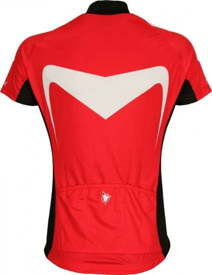 Nalini Base Short Sleeve Jersey For Ladies Okenite Red