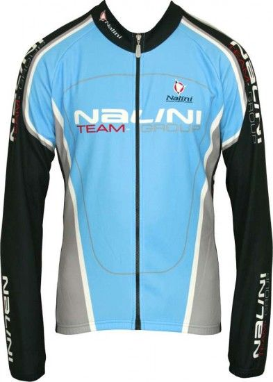 Nalini Pro Special Long Sleeve Jersey Audino For Kids Light Blue