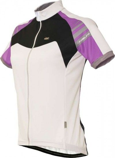 Nalini Pro Short Sleeve Jersey For Ladies Ludwigia White