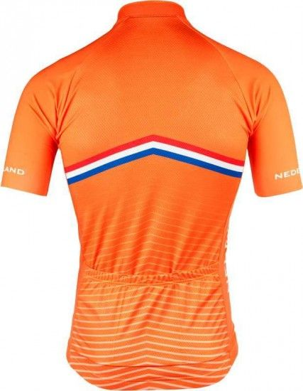 Bioracer Netherlands 2019 Set - (Jersey Long Zip + Strap Trousers) - National Cycling Team