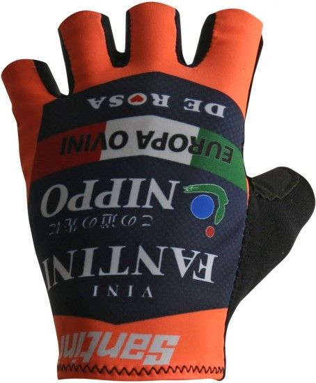 Santini Nippo - Vini Fantini 2018 Short Finger Cycling Gloves - Professional Cycling Team
