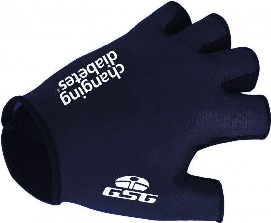 Giessegi Novo Nordisk 2018 Short Finger Cycling Gloves - Professional Cycling Team