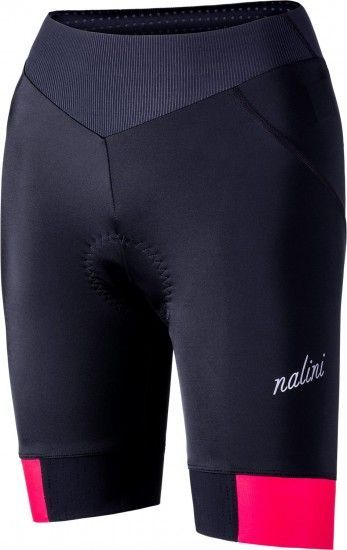 Nalini Ambiziosa 2.0 Womens Cycling Shorts Black/Pink (E19-4700)