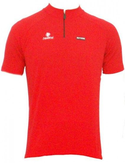 Nalini Base Cycling Jersey For Kids Akela Red