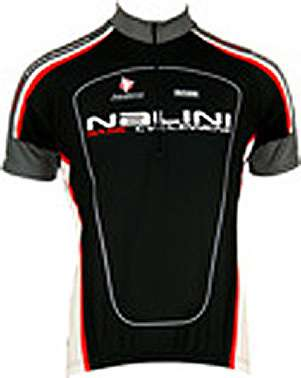 Nalini Base Cycling Jersey For Kids Antracite Black