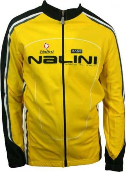 Nalini Base Cycling Long Sleeve Jersey For Kids Pirrotina Yellow