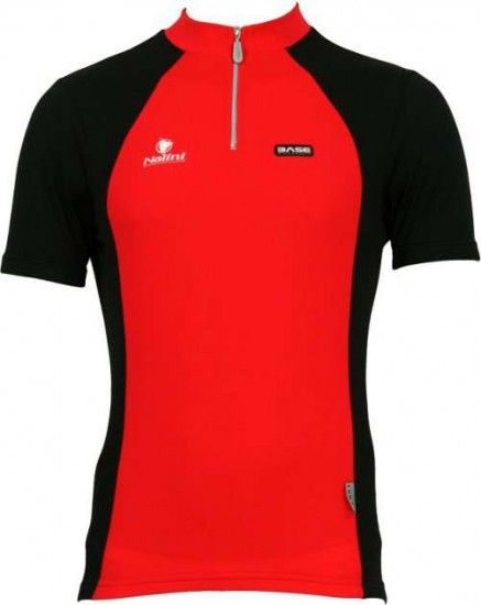 Nalini Base Cycling Short Sleeved Tricot Timan Red/Black