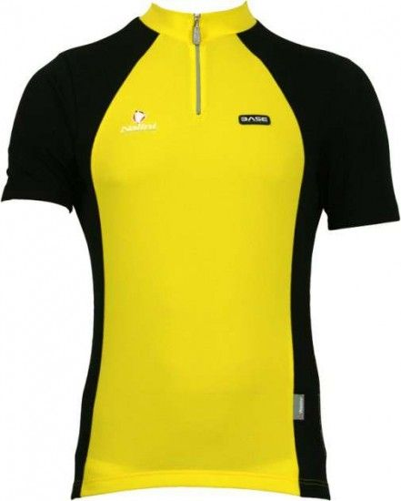 Nalini Base Cycling Short Sleeved Tricot Timan Yellow/Black