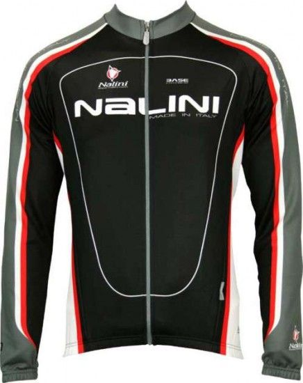 Nalini Basic Long Sleeve Jersey Saccarina For Kids Black