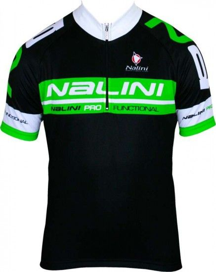 Nalini Cantreros Short Sleeve Jersey Black/Green