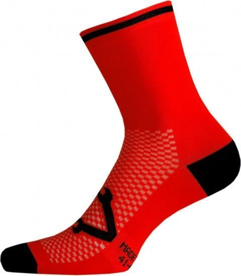 Nalini Lampo 2.0 Cycling Socks Red (E19-4100)