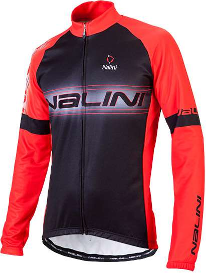 Nalini Lovere Long Sleeve Jersey Black/Red