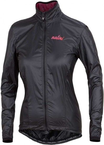 Nalini Pro Acquaria Jkt Cycling Wind-Jacket For Ladies Black (I18-4000)
