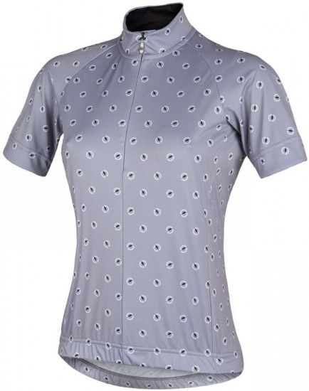 Nalini Pro Acquaria Lady Jersey Short Sleeve Jersey For Ladies Grey (E16-4001)
