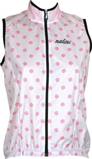Nalini Pro Acquaria Vest 1 Cycling Wind-Vest For Ladies White