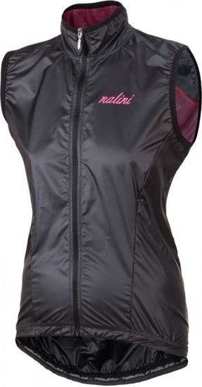Nalini Pro Acquaria Vest Cycling Wind-Vest For Ladies Black (I18-4000)