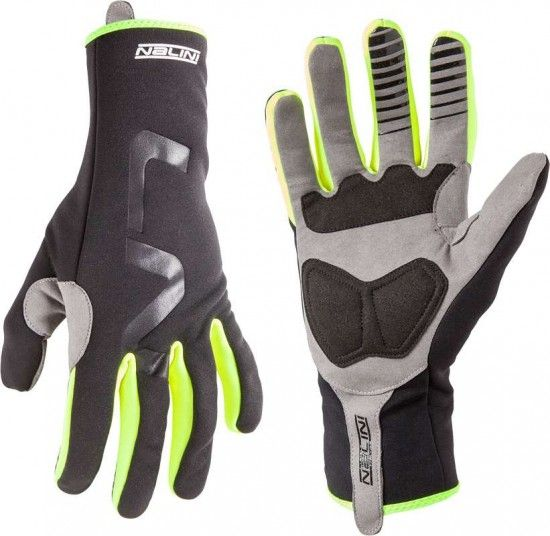 Nalini Pro Aeprolight Pro Glove Full Season Winter Gloves Black/Neon Yellow (I18-4050)