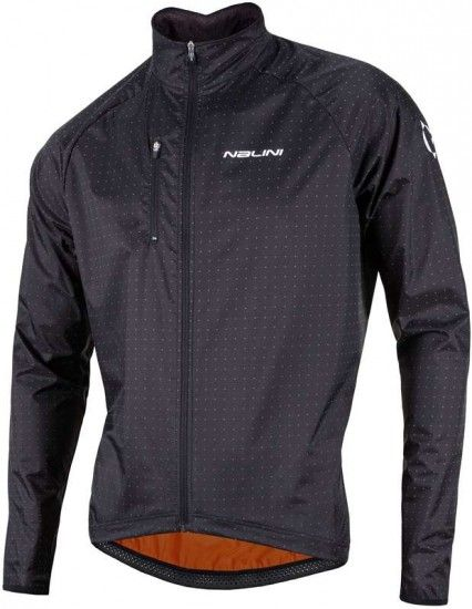 Nalini Pro Bellatrix Windproof Cycling Jacket Black (I17-4000)