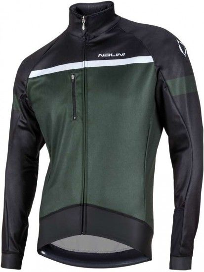 Nalini Pro Canopo Winter Cycling Jacket Dark Green (I17-4000)