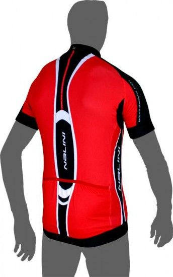 Nalini Pro Chiaro Compression Short Sleeve Jersey Red