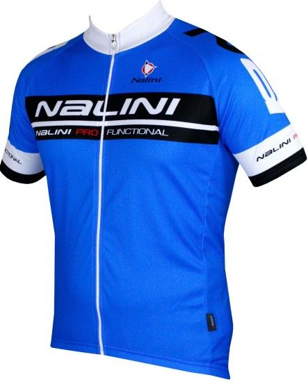 Nalini Pro Draconis Short Sleeve Cycling Jersey Blue (5200)