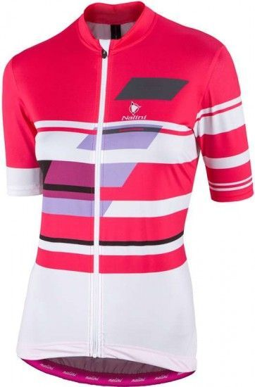 Nalini Pro Dolomiti Jersey Short Sleeve Jersey For Ladies Pink (E17-4755)
