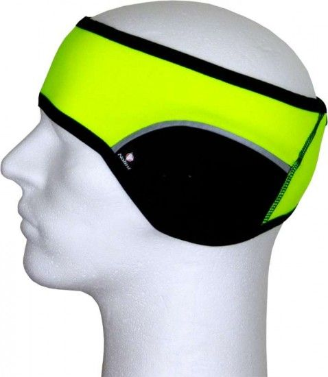 Nalini Pro I14 Benna Thermo-Headband Neon Yellow